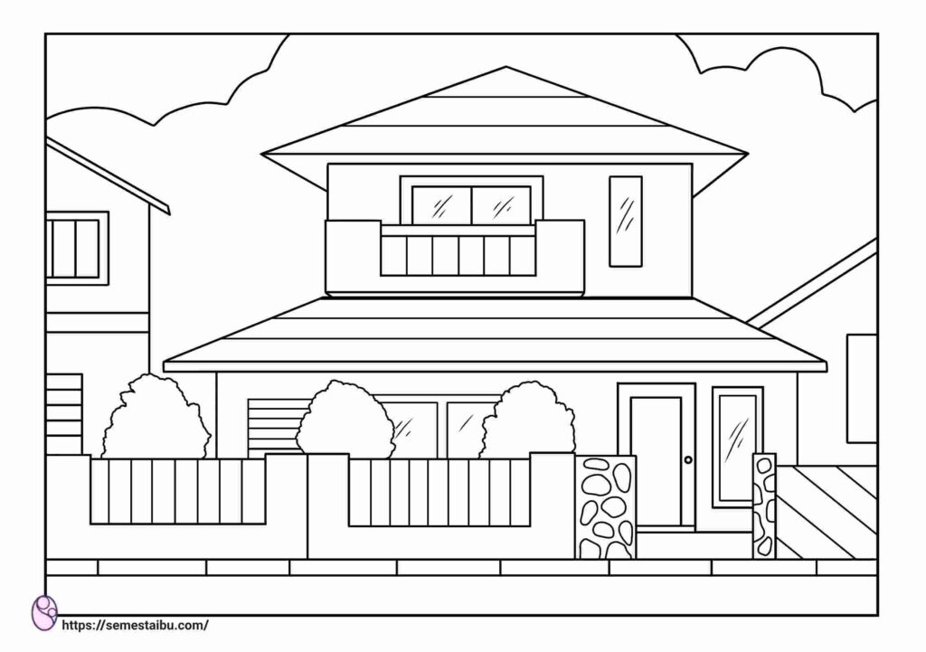 125+ Gambar Mewarnai Anak TK - SD (PDF) - Free Download